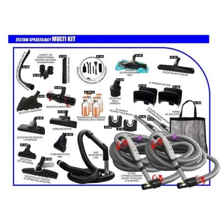 Zestaw akcesoriów Master Kit TQD wąż 7,5m/9m