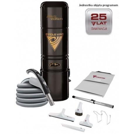 Odkurzacz centralny Cyclo Vac H615 Black Edition + zestaw akcesoriów