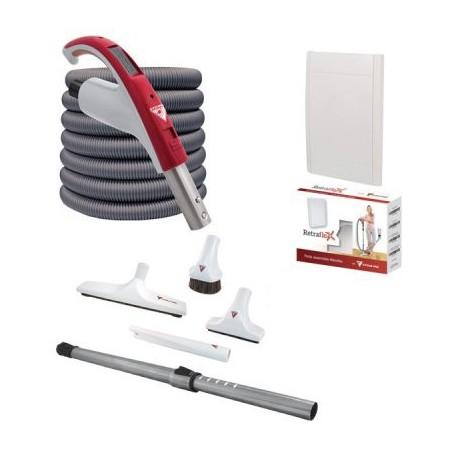 Zestaw do sprzątania Retraflex® z wężem Rapidflex 15,2m