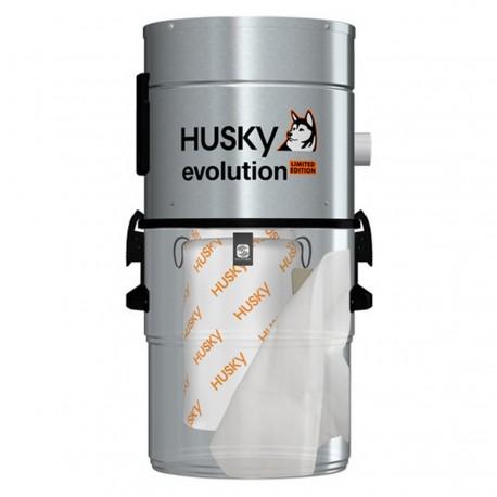 Odkurzacz centralny Husky Evolution + zestaw sprzątający Superior