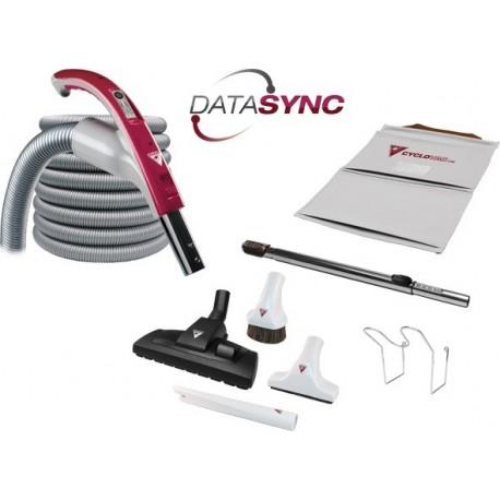 Zestaw sprzątający Cyclovac DataSync z wężem DataSync 9m