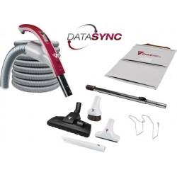 Zestaw sprzątający Cyclovac DataSync z wężem DataSync 12m