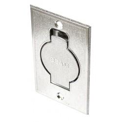 Gniazdo ssące Standard srebrne podłogowe