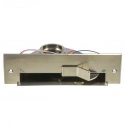 Szufelka automatyczna VACPAN stal szczotkowana z diodą LED