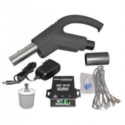 Zestaw rękojeści + nadajnik i odbiornik RF HAH + zawór bezp.