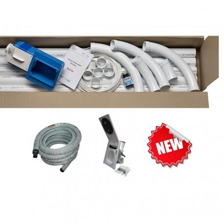 Pakiet Jumbo HAH 18m z zestawem instalacyjno-podłączeniowym (+wąż w pokrowcu i gniazdo HAH)
