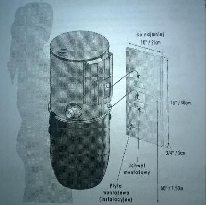 instrukcja montażu odkurzacza centralnego